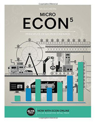ECON MICRO Principles of Microeconomics