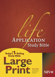 Life Application Study Bible NIV Large Print