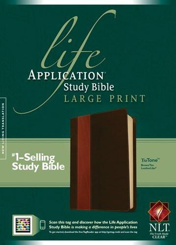 Life Application Study Bible Nlt Large Print Tutone