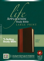 Life Application Study Bible Nlt Large Print Tutone