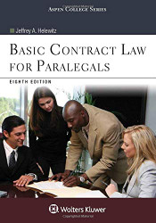 Basic Contract Law for Paralegals   (Jeffrey Helewitz)