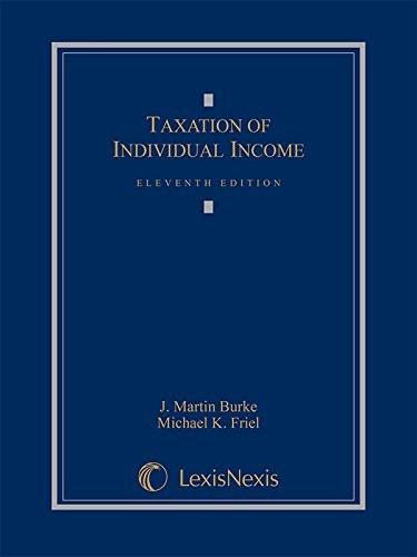 Taxation Of Individual Income