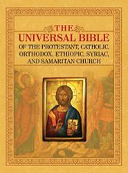 UNIVERSAL BIBLE OF THE PROTESTANT CATHOLIC ORTHODOX ETHIOPIC SYRIAC