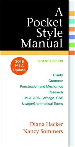 Pocket Style Manual