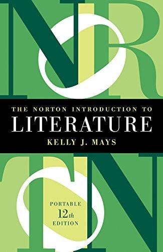 Norton Introduction To Literature - Portable Edition