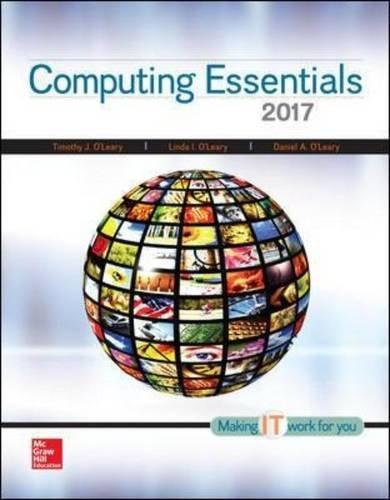 Computing Essentials