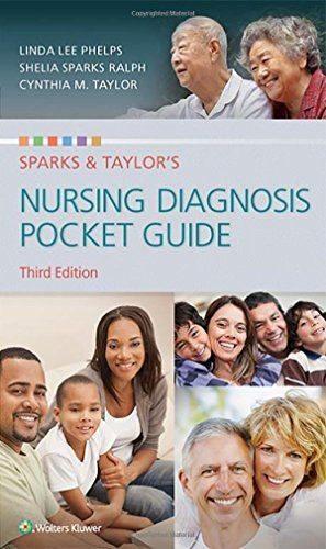 Sparks And Taylor's Nursing Diagnosis Reference Manual - Pocket Guide
