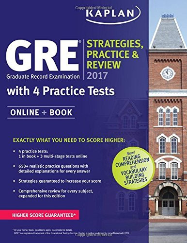 Gre 2016 Strategies Practice And Review With 4 Practice Tests