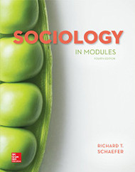 Sociology In Modules   (Richard T Schaefer)