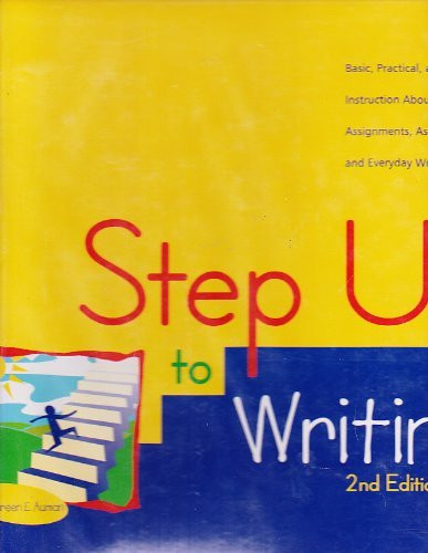 Step Up To Writing Grades K-3