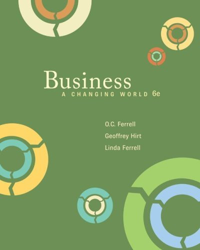 Business Foundations A Changing World