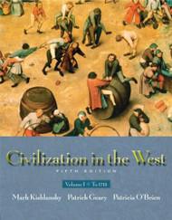 Civilization In The West Volume 1