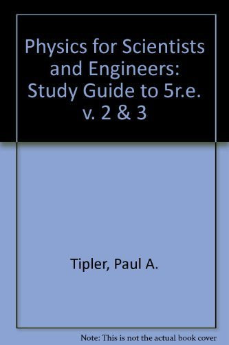 Physics For Scientists And Engineers Study Guide Volume 2