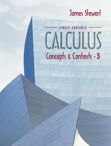 Single Variable Calculus Concepts And Contexts