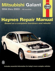 Mitsubishi Galant Haynes Repair Manual