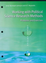 Working With Politics Science Research Methods
