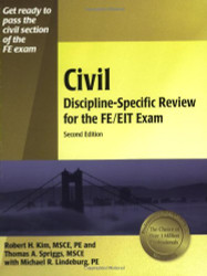 Civil Discipline Specific Review for the FE/EIT Exam
