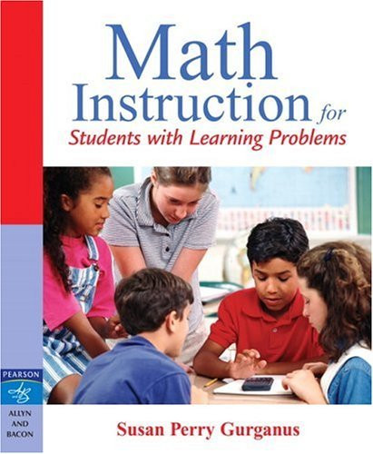 Math Instruction For Students With Learning Problems