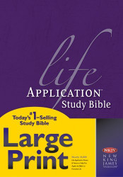 Life Application Study Bible Nkjv Large Print