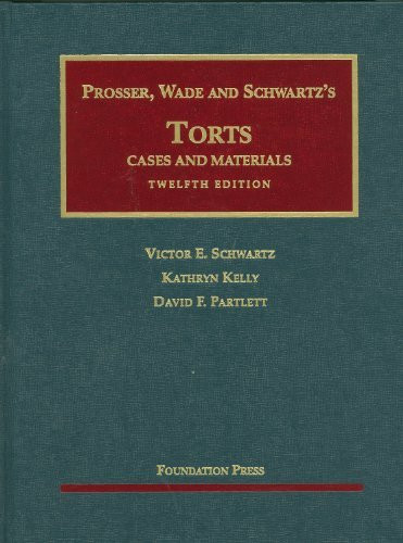 Torts Cases And Materials
