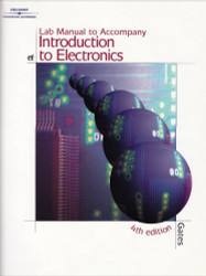 Lab Manual For Gates' Introduction To Electronics
