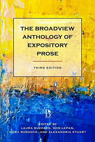 The Broadview Anthology of Expository Prose -