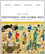 Discovering The Global Past Volume 1