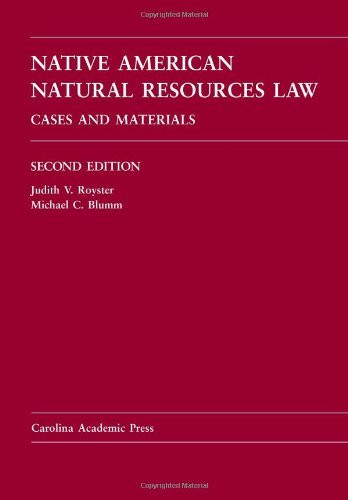 Native American Natural Resources Law