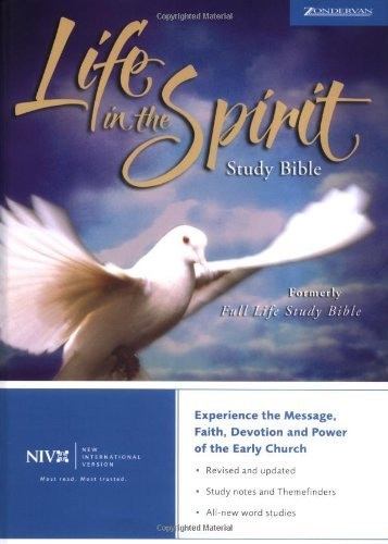 Niv Life In The Spirit Study Bible
