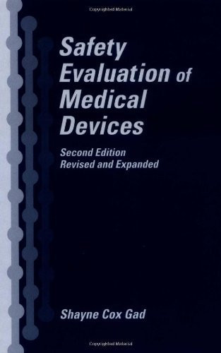 Safety Evaluation In The Development Of Medical Devices And Combination Products