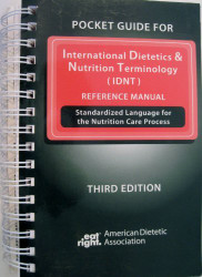 Pocket Guide For International Dietetics And Nutrition Terminology