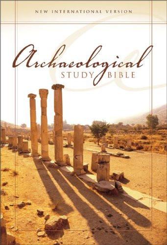 Niv Archaeological Study Bible Large Print An Illustrated Walk Through Biblical