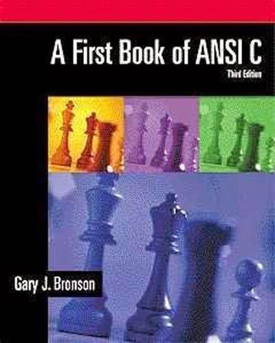 Book Of Ansi C