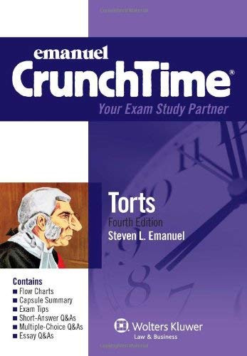 Crunchtime Torts