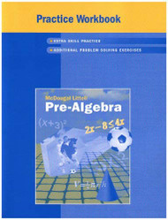 Mcdougal Littell Pre-Algebra Practice Workbook