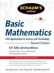 Schaum's Outline Of Basic Mathematics With Applications To Science And