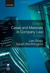 Sealy and Worthington's Company Law