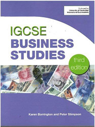 Cambridge IGCSE and O Level Business Studies