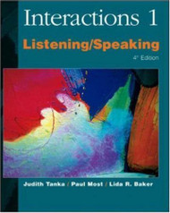 Interactions 1 Listening/Speaking