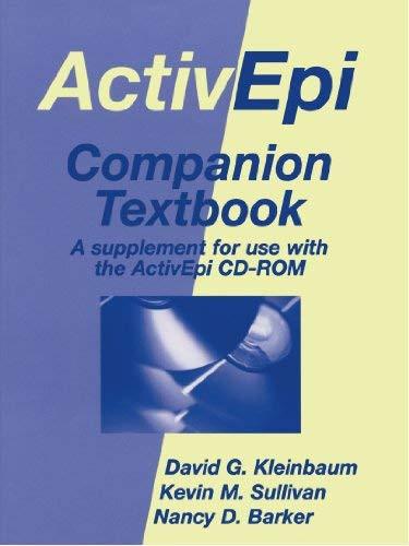 ActivEpi Companion Textbook