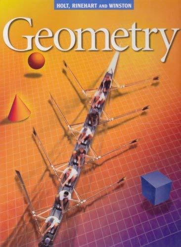 Geometry Student Edition Geometry
