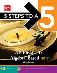 5 Steps to a 5 AP Physics 1