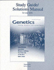 Genetics From Genes To Genomes Study Guide