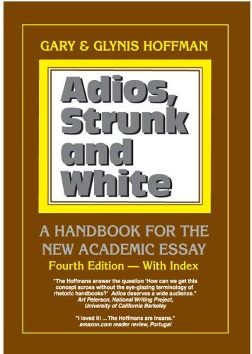 Adios Strunk and White