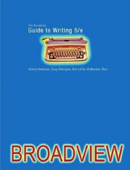 Broadview Guide To Writing