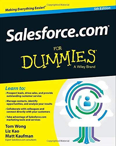 SalesforceCom For Dummies
