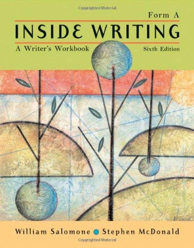 Inside Writing Form A