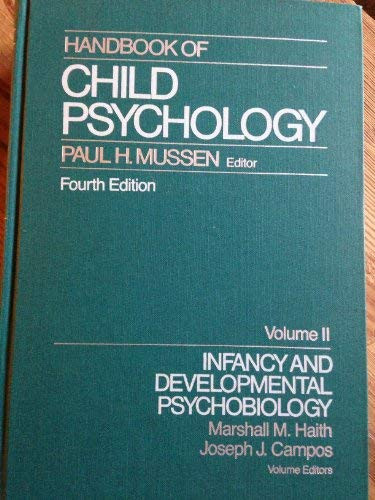 Handbook Of Child Psychology Infancy And Developmental Psychobiology Volume 2