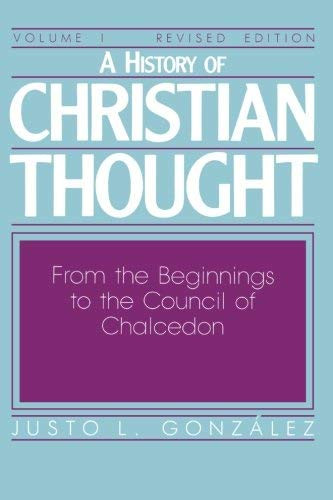 History Of Christian Thought Volume 1