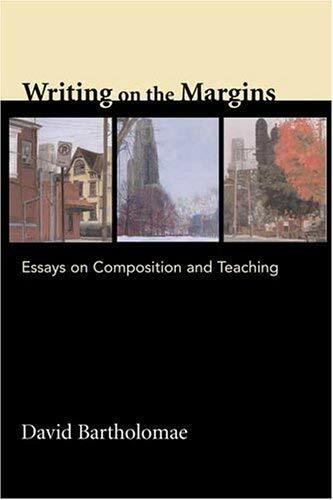 Writing On The Margins